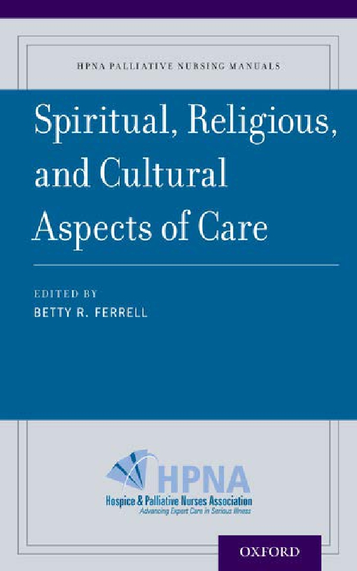 Spiritual, Religious, and Cultural Aspects of Care