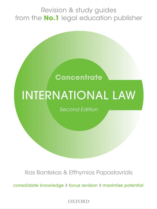 International Law Concentrate